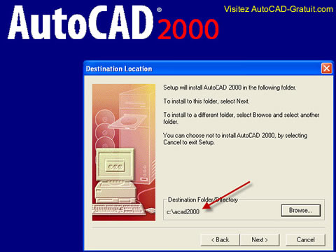 T l chargement et installation d 39 autocad 2000 sur windows - Open office windows 7 gratuit francais ...